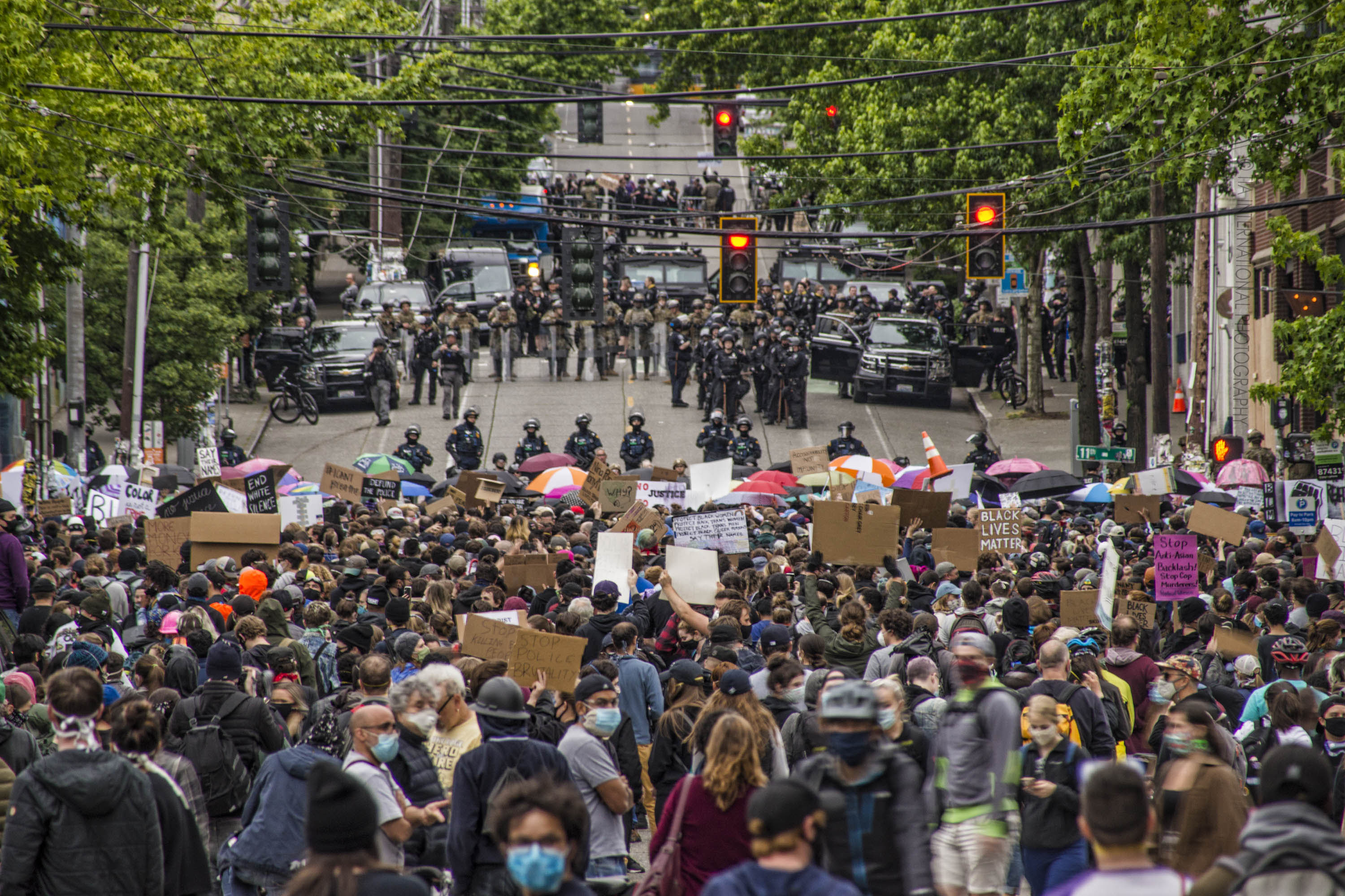 The Pandemic, The Pandemonium & The Protests